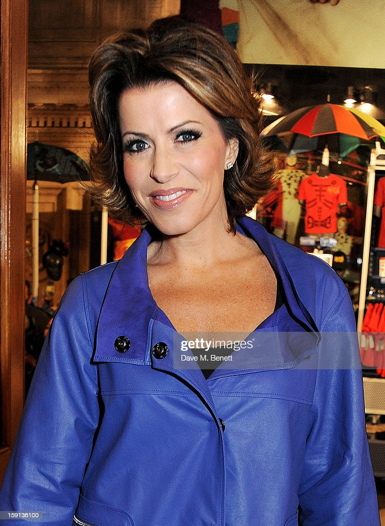 Natasha Kaplinsky arrives at the opening night of Cirque Du Soleil's Kooza at Royal Albert Hall on January 8, 2013 in London, England.