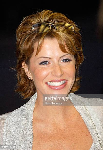 Natasha Kaplinsky arrives at the UK Premiere of 'The Queen' at the Curzon Mayfair