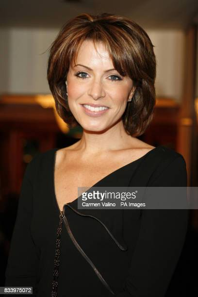 Natasha Kaplinsky arrives at the Women in Film and Television Awards at The Hilton Hotel in central London