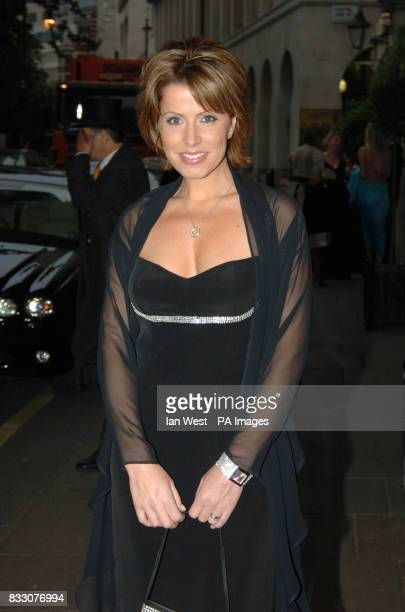Natasha Kaplinsky arrives for the Everyman 'Walk with Cancer' Campaign Ball at the Savoy in central London Press Association Photo