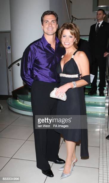 Natasha Kaplinsky arrives for the UK Premiere of The Bourne Ultimatum at the Odeon West End in central London