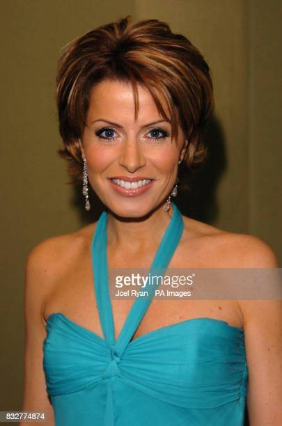 Natasha Kaplinsky arrives to present the Royal Television Society Television Journalism Awards at the London Hilton hotel in west London