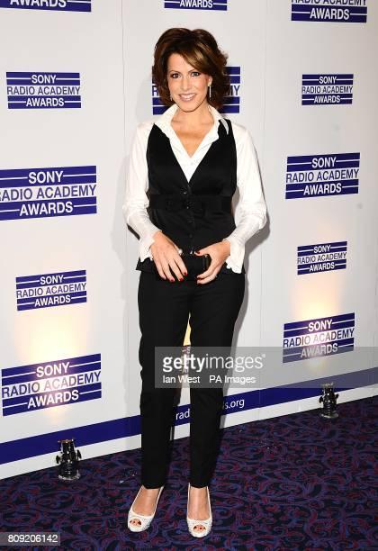 Natasha Kaplinsky arriving for the Sony Radio Academy Awards 2011 at the Grosvenor House Hotel London