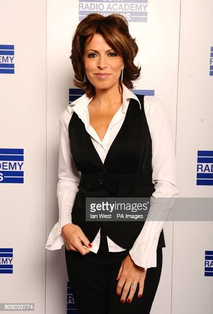 Natasha Kaplinsky at the Sony Radio Academy Awards 2011 at the Grosvenor House Hotel London