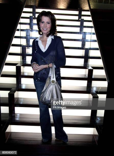 Natasha Kaplinsky at the Ultimate News Quiz hosted by Bloomberg London