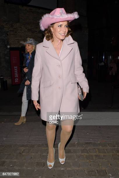 Natasha Kaplinsky attending Save the Children's Night of Country at the Roundhouse Camden on March 2 2017 in London England