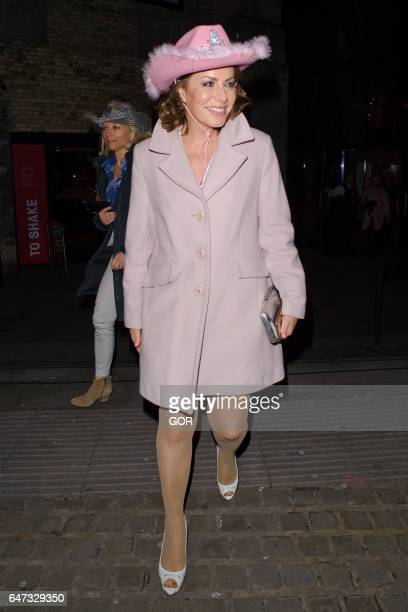 Natasha Kaplinsky attending Save the Children's Night of Country on March 2 2017 in London England