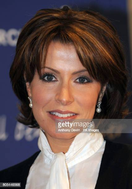 Natasha Kaplinsky attends the Cancer Research UK tenth annual Turn the Tables event at BAFTA London