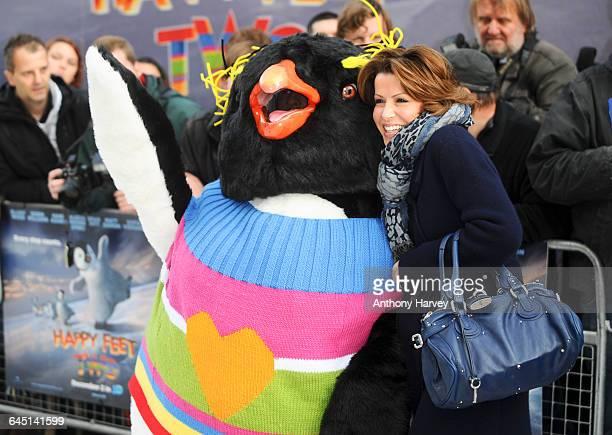 Natasha Kaplinsky attends the Happy Feet 2 Premiere on November 20 2011 at the Empire Cinema in London