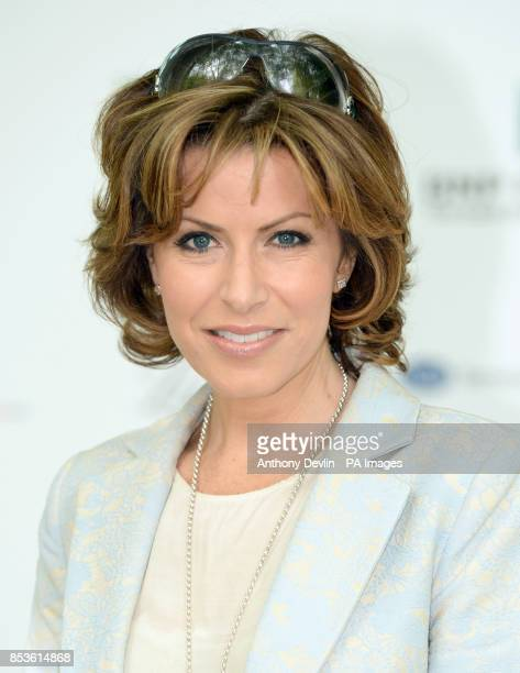 Natasha Kaplinsky attends the opening day of the annual BNP Paribas Tennis Classic VIP event at the Hurlingham Club London PRESS ASSOCIATION Photo...