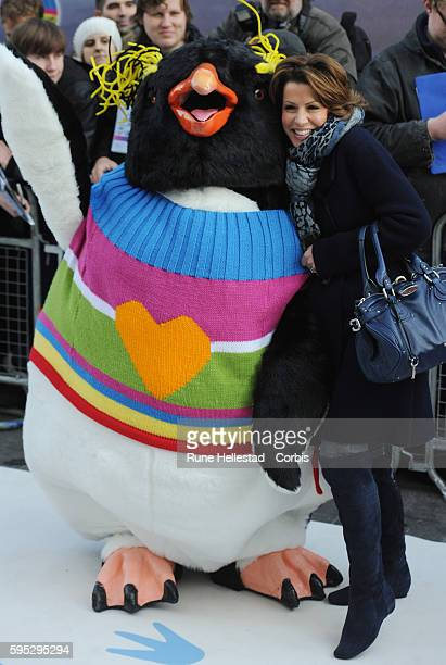 Natasha Kaplinsky attends the premiere of 'Happy Feet Two' at Empire Leicester Square
