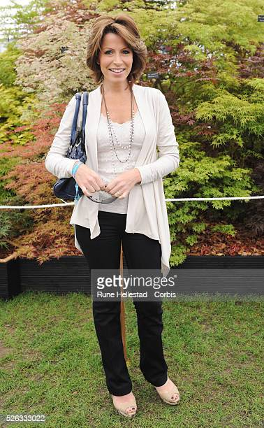 Natasha Kaplinsky attends the 'RHS Chelsea Flower Show'