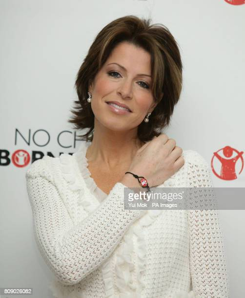 Natasha Kaplinsky during the launch of Save The Children's 'Missing Midwives' report at the Royal College of Obstetricians and Gynaecologists in...