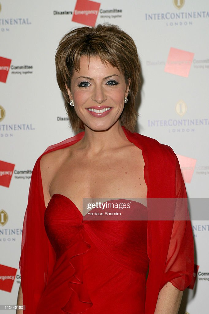 Natasha Kaplinsky During Tsunami Earthquake Appeal Dinner
