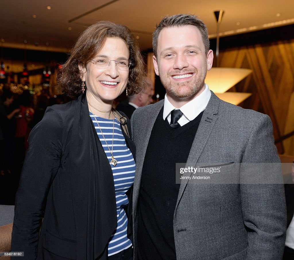 <a gi-track='captionPersonalityLinkClicked' href=/galleries/search?phrase=Natasha+Katz&family=editorial&specificpeople=5357773 ng-click='$event.stopPropagation()'>Natasha Katz</a> (L) and Michael Arden arrive at A Toast To The 2016 Tony Awards Creative Arts Nominees at The Lambs Club on May 24, 2016 in New York City.