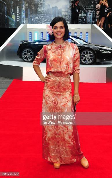 Natasha Khan aka Bat For Lashes arriving for the UK Premiere of The Wolverine at the Empire Leicester Square London