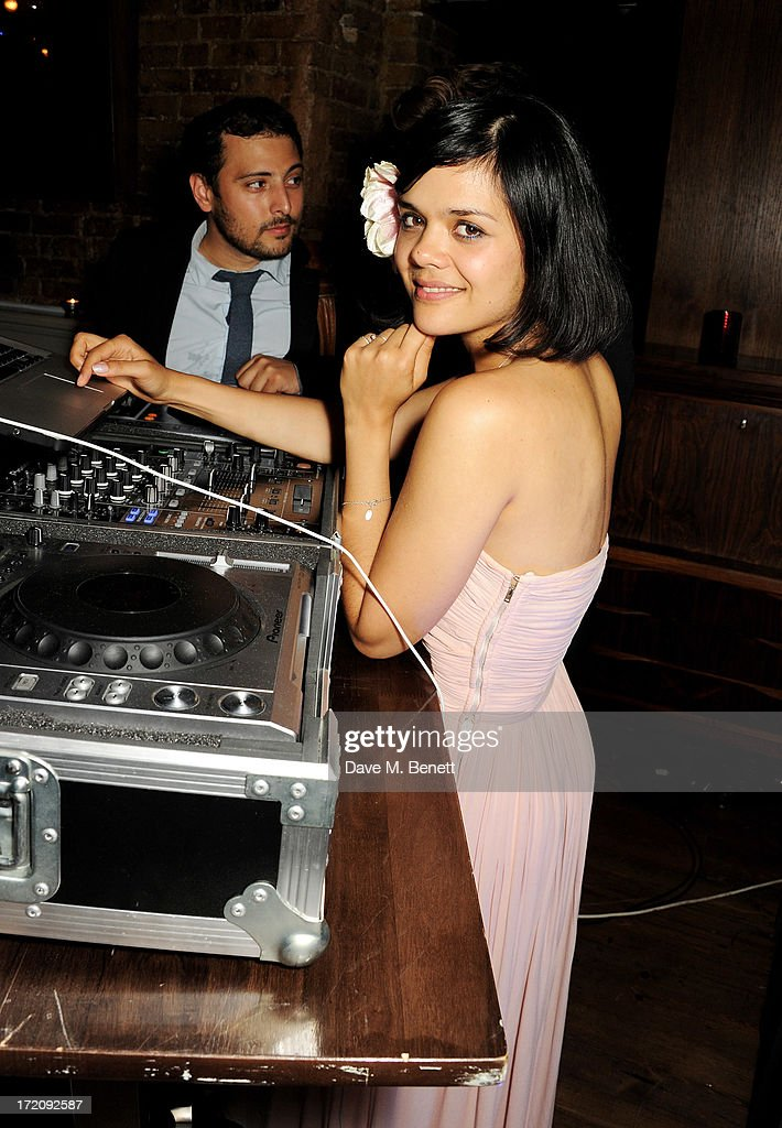 <a gi-track='captionPersonalityLinkClicked' href=/galleries/search?phrase=Natasha+Khan&family=editorial&specificpeople=593228 ng-click='$event.stopPropagation()'>Natasha Khan</a> aka Bat For Lashes attends an after party following 'A Curious Night at the Theatre', a charity gala evening to raise funds for Ambitious about Autism and The National Autistic Society, at Century Club on July 1, 2013 in London, England.