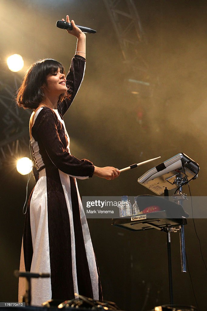 <a gi-track='captionPersonalityLinkClicked' href=/galleries/search?phrase=Natasha+Khan&family=editorial&specificpeople=593228 ng-click='$event.stopPropagation()'>Natasha Khan</a> of Bat For Lashes performs at day 3 of the Lowlands Festival on August 18, 2013 in Biddinghuizen, Netherlands.