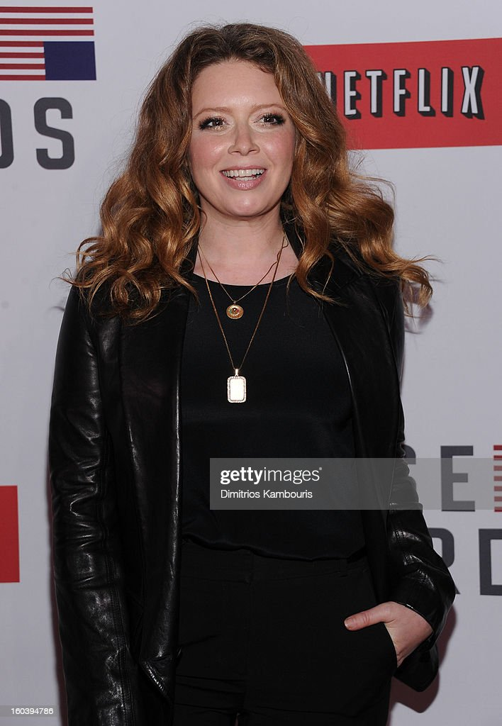 Natasha Lyon attends the Netflix's 'House Of Cards' New York Premiere at Alice Tully Hall on January 30, 2013 in New York City.