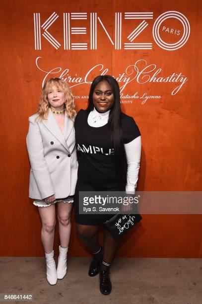 Natasha Lyonne and Danielle Brooks attend KENZO Humberto Leon Carol Lim And Natasha Lyonne Premiere 'Cabiria Charity Chastity' In New York City at...