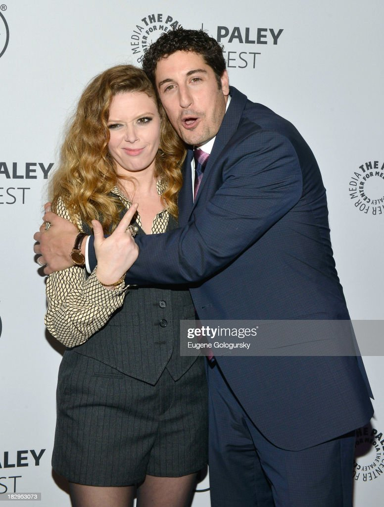 <a gi-track='captionPersonalityLinkClicked' href=/galleries/search?phrase=Natasha+Lyonne&family=editorial&specificpeople=1537481 ng-click='$event.stopPropagation()'>Natasha Lyonne</a> and <a gi-track='captionPersonalityLinkClicked' href=/galleries/search?phrase=Jason+Biggs+-+Actor&family=editorial&specificpeople=210701 ng-click='$event.stopPropagation()'>Jason Biggs</a> attend 'Orange Is the New Black' during 2013 PaleyFest: Made In New York at The Paley Center for Media on October 2, 2013 in New York City.