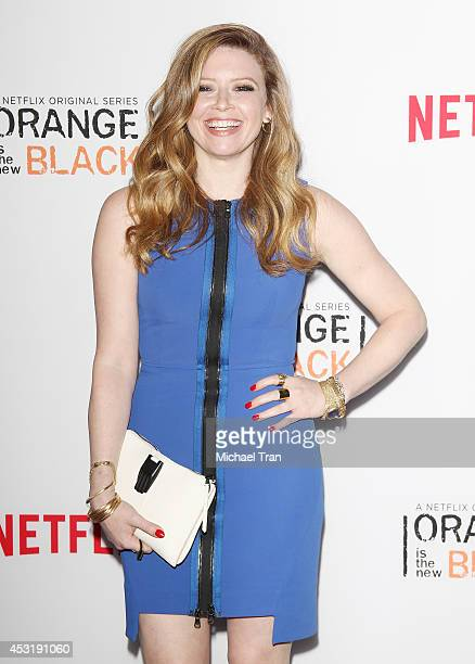 Natasha Lyonne arrives at the Los Angeles Screening of 'Orange Is The New Black' held at DGA Theater on August 4 2014 in Los Angeles California