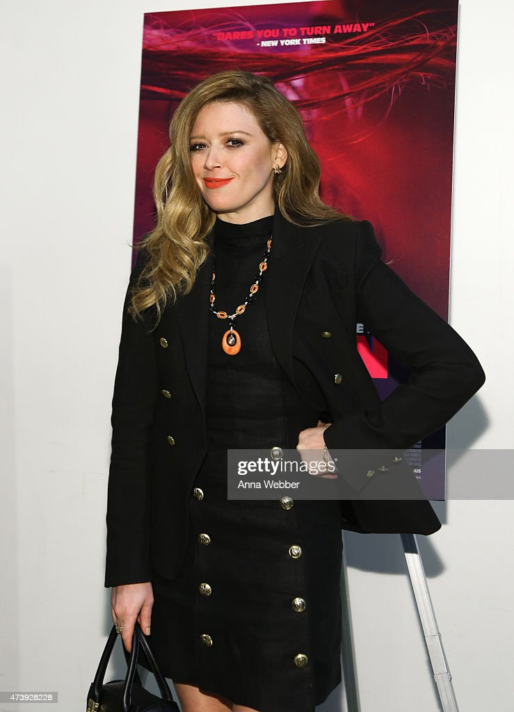 Natasha Lyonne arrives to the 'Heaven Knows What' New York Premiere at the Celeste Bartos Theater at the Museum of Modern Art on May 18 2015 in New...