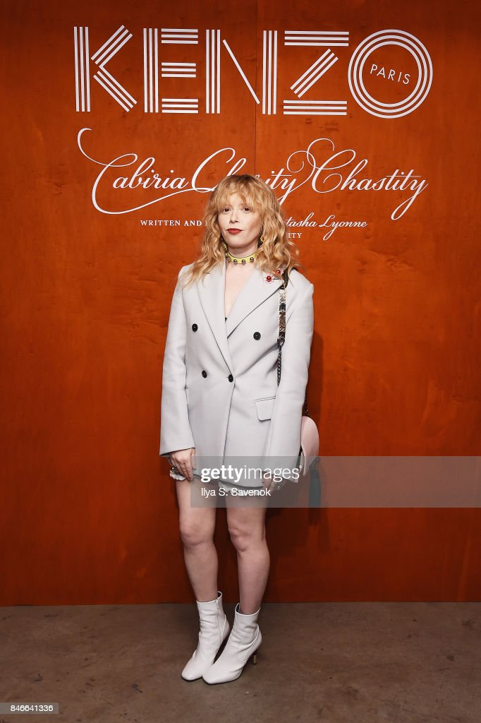 Natasha Lyonne attends KENZO, Humberto Leon, Carol Lim And Natasha Lyonne Premiere 'Cabiria, Charity, Chastity' In New York City at Public Arts on September 13, 2017 in New York City.