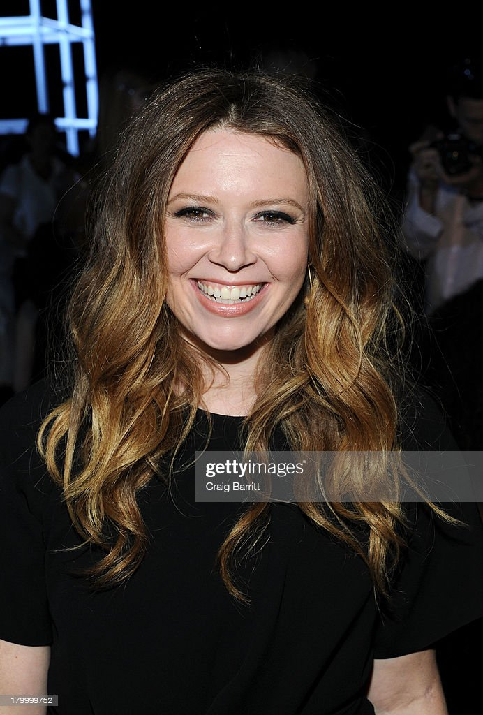 Natasha Lyonne attends the Alexander Wang fashion show during Mercedes-Benz Fashion Week Spring 2014 at Pier 94 on September 7, 2013 in New York City.