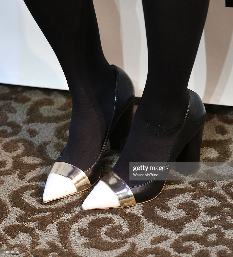 Natasha Lyonne (shoe detail) attends the 'Crimes Of The Heart' benefit reading for The New Group at Acorn Theatre on October 28, 2013 in New York City.