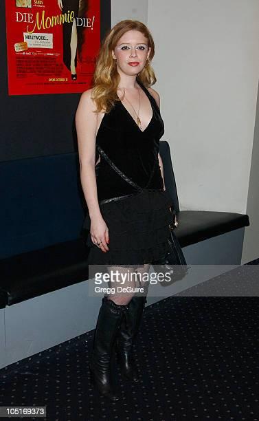 Natasha Lyonne during 'Die Mommie Die' Los Angeles Premiere at Beverly Center Loews Cineplex in Los Angeles California United States