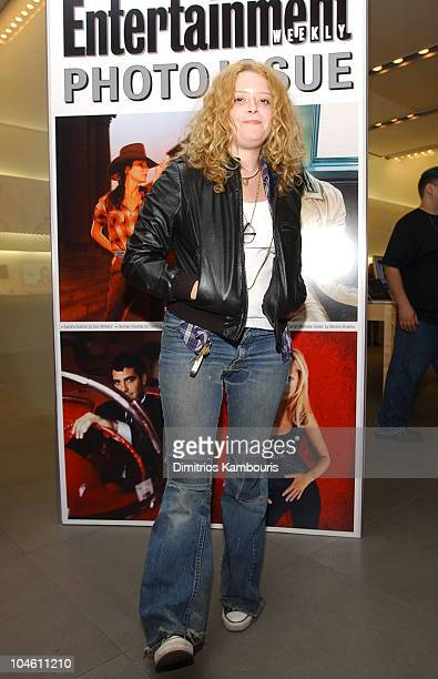 Natasha Lyonne during Entertainment Weekly's First Ever Photo Issue Event at The Apple Store in SoHo in New York City New York United States