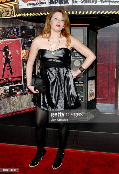 Natasha Lyonne during 'Grindhouse' Los Angeles Premiere Arrivals at Orpheum Theatre in Los Angeles California United States