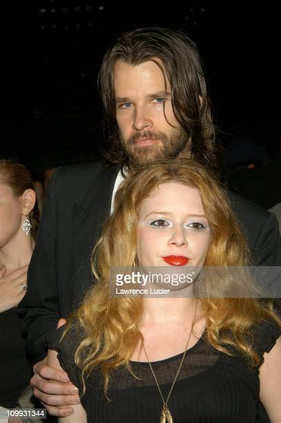 Natasha Lyonne during MercedesBenz Fashion Week Spring 2004 Marc Jacobs Show at New York State Armory in New York City New York United States