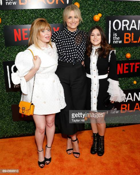 Natasha Lyonne Taylor Schilling and Yael Stone attend the Season 5 celebration of 'Orange is the New Black' at Catch on June 9 2017 in New York City