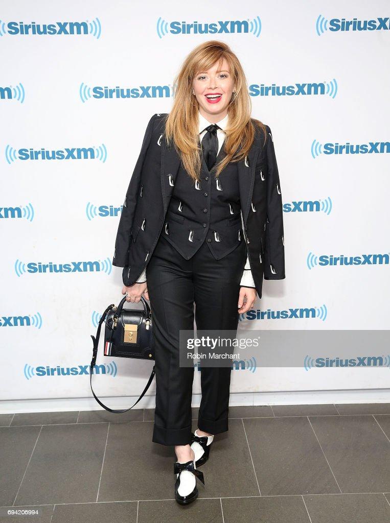 Natasha Lyonne visits at SiriusXM Studios on June 9, 2017 in New York City.