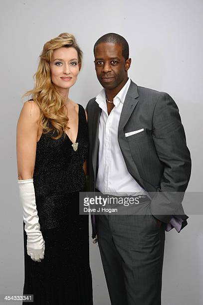 Natasha McElhone and Adrian Lester attend the Moet British Independent Film Awards 2013 at Old Billingsgate Market on December 8 2013 in London...