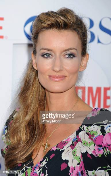 Natasha McElhone arrives at the TCA Party for CBS The CW and Showtime held at The Pagoda on August 3 2011 in Beverly Hills California