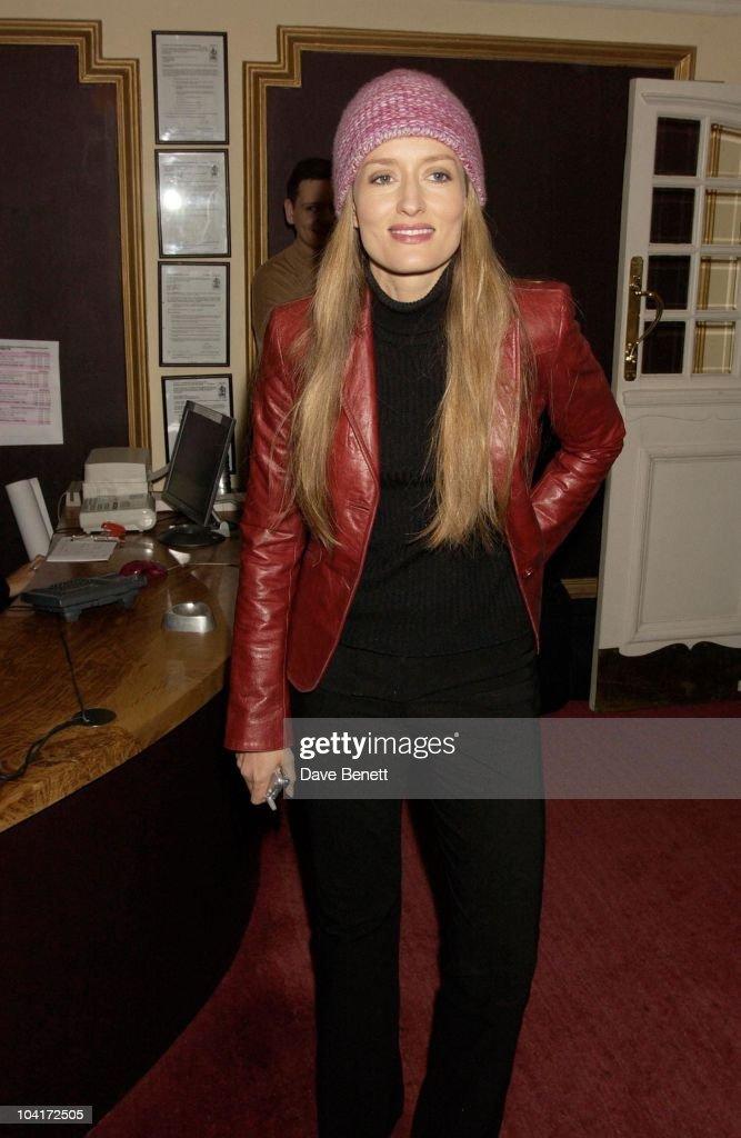 Natasha Mcelhone, Intermission Movie Premiere And After Party At The Electric Cinema, Portobello Road, London