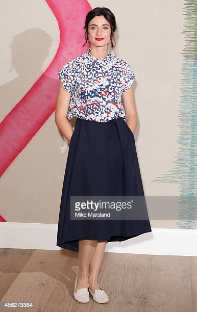 Natasha O'Keeffe attends 'Peaky Blinders' London Preview Screening at Ham Yard Hotel on September 28 2014 in London England