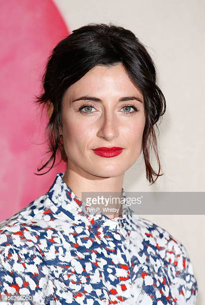 Natasha O'Keeffe poses for a photo ahead of a preview screening of the second series of 'Peaky Blinders' at Ham Yard Hotel on September 28 2014 in...