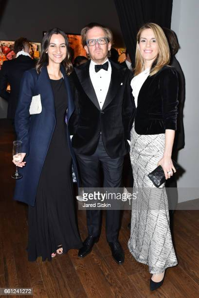 Natasha Plecas Chum Langhorne and Gordana Jelic attend the First Annual Medair Gala at Stephan Weiss Studio on March 30 2017 in New York City