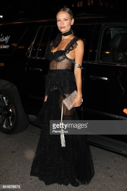 Natasha Poly arrives at Harper's BAZAAR Celebration of 'ICONS By Carine Roitfeld' at The Plaza Hotel presented by Infor Laura Mercier Stella Artois...