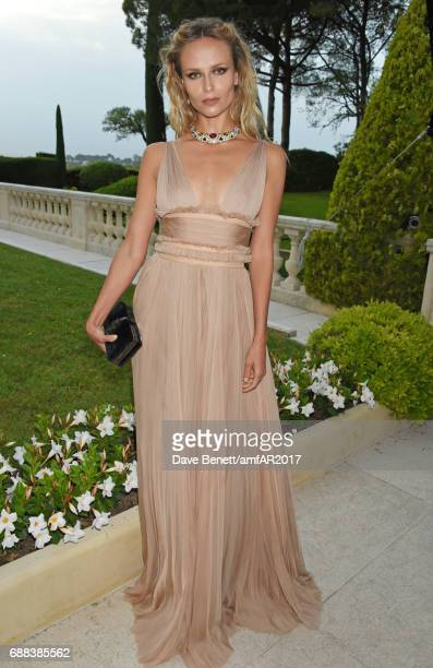 Natasha Poly arrives at the amfAR Gala Cannes 2017 at Hotel du CapEdenRoc on May 25 2017 in Cap d'Antibes France