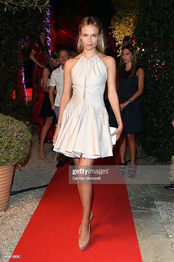 <a gi-track='captionPersonalityLinkClicked' href=/galleries/search?phrase=Natasha+Poly&family=editorial&specificpeople=2163130 ng-click='$event.stopPropagation()'>Natasha Poly</a> attends Monika Bacardi Summer Party 2014 St Tropez at Les Moulins de Ramatuelle on July 27, 2014 in Saint-Tropez, France.