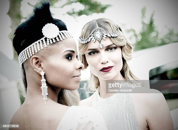 Natasha Poly attends Natasha Poly BDAY party in Amsterdam on July 12 2015 in Amsterdam Netherlands