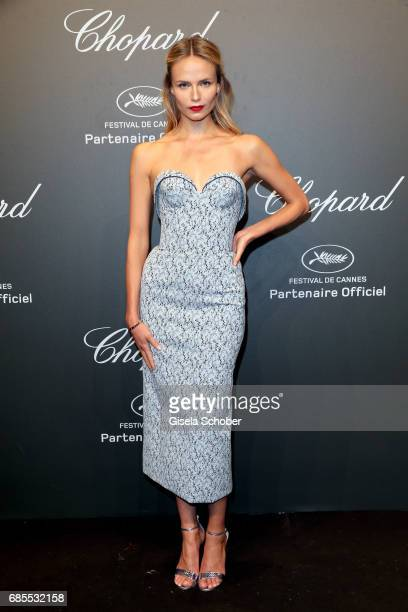 "Natasha Poly attends the Chopard ""SPACE Party"" hosted by Chopard's copresident Caroline Scheufele and Rihanna at Port Canto on May 19 in Cannes France"