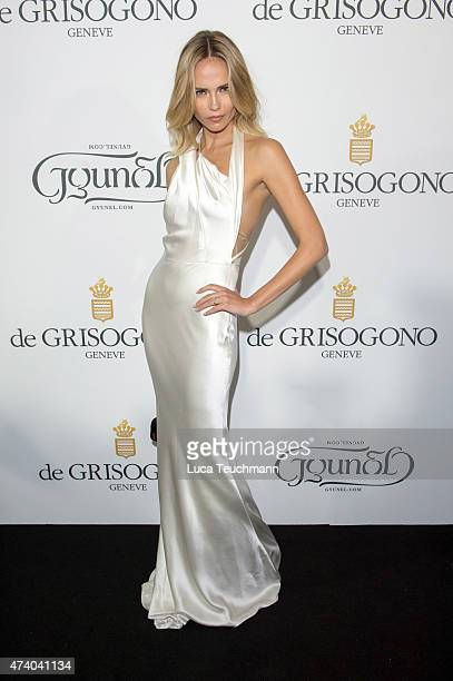 Natasha Poly attends the De Grisogono Party at the 67th Annual Cannes Film Festival on May May 19 2015 in Cap d'Antibes France