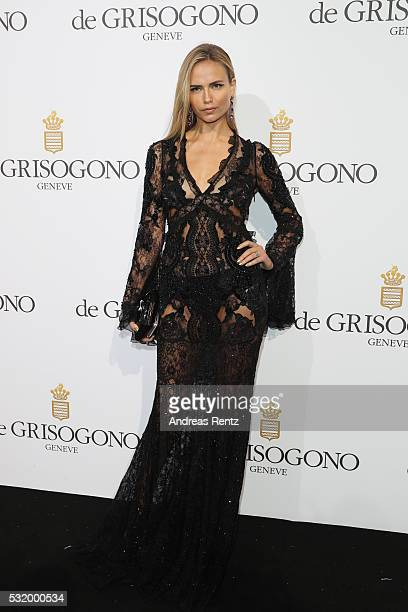 Natasha Poly attends the De Grisogono Party during the annual 69th Cannes Film Festival at Hotel du CapEdenRoc on May 17 2016 in Cap d'Antibes France