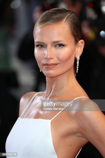 Natasha Poly attends the 'In The Fade ' screening during the 70th annual Cannes Film Festival at Palais des Festivals on May 26 2017 in Cannes France